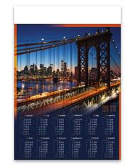 kalendarze plakatowe B1 Most
