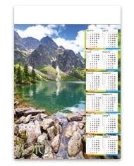 kalendarze plakatowe B1 Nad Morskim Okiem