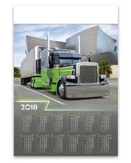 kalendarze plakatowe B1 Truck