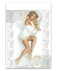 kalendarze plakatowe - Iwona