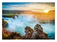 kalendarze trójdzielne Wodospad