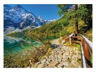 kalendarze trójdzielne XL Górskie jezioro
