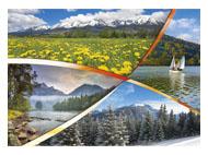 kalendarze trójdzielne XL Poslie góry