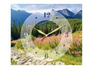 kalendarze trójdzielne z zegarem Górska hala