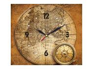 kalendarze trójdzielne z zegarem Mapa