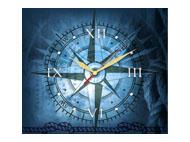 kalendarze trójdzielne z zegarem Róża Wiatrów