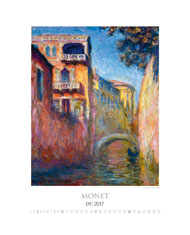kalendarz reklamowy dla firm - Monet