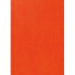 notes reklamowy A5 - oprawa matowa pomarańczowa