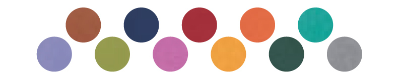 Dostepne kolory - oprawa Classic